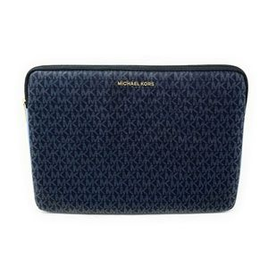 Michael Kors Connie Padded Laptop Case French Blue